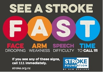 Stroke Foundation NZ See a Stroke FAST Campaign
